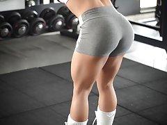 ¡¡¡Dios mío!!! Fitness hot culo caliente cuerpo