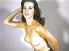 El jardín del Edén - medias de nylon vintage striptease