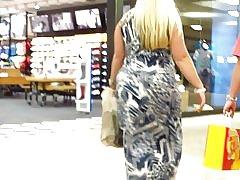 Rubia bbw grueso compras día de padres af sexy!