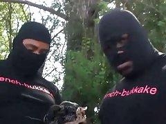 Sexy negro gangbang primera adolescentes
